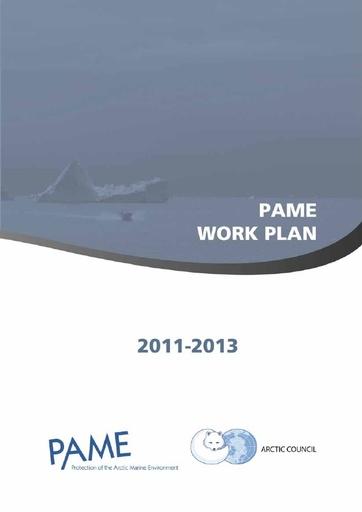 PAME Work Plan 2011-2013