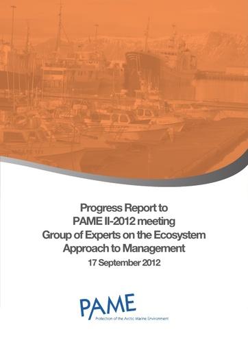 EA Progress Report - September 2012