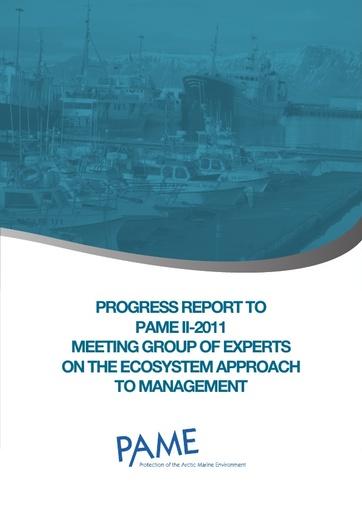 EA Progress Report - September 2011