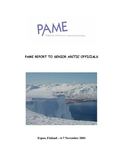 SAO Report 2001 (November)