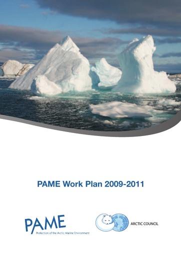 PAME Work Plan 2009-2011