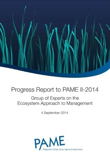 EA Progress Report - September 2014