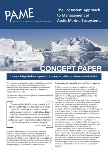 EA Concept Paper (2016)