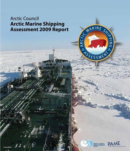 Arctic Council (2009). Arctic Marine Shipping Assessment 2009 Report No.: 194