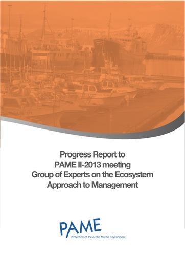 EA Progress Report - September 2013